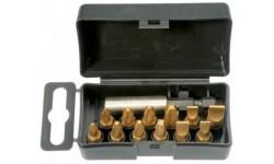 Набор бит SL/PZ/PH TiN с держателем бит в кейсе, 13 шт Felo 02091716, , 1750 руб., 02091716, , Наборы бит