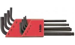 Набор шестигранных ключей TORX с шаровым окончанием 8 шт FELO 348 080 01, , 5020 руб., 34808001, Felo, Шестигранные ключи