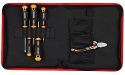 Набор отверток Ergonic SL, PH, PZ с бокорезами 160 мм FELO 40090604