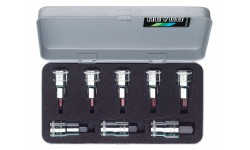 Набор с отвёрточными вставками HEYCO 50-55-2-M, 1/2, 8 предметов HE-00050550283, HE-00050550283, 9579 руб., HE-00050550283, HEYCO, Набор инструментов