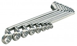 фото Набор двусторонних накидных гаечных ключей HEYCO 6 шт. K 475-6-AF-1 HE-00475962082 (HE-00475962082])