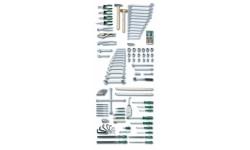 фото Авторемонт и техобслуживание: шкаф для инструментов, 113 предметов (HE-00911000382])