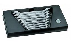 фото Набор двусторонних ключей HEYCO с открытым зевом 8 шт. HE-00968000282 (HE-00968000282])