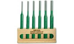 Набор инструментов HEYCO с пробойниками для выбивания шплинтов № 1567  HE-01567000021