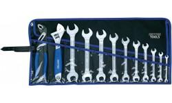 Набор рожковых гаечных ключей двухсоронних R 50800-12-М