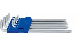Набор длинных Г-образных ключей TORX® HEYCO HE-50813498280