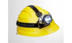 Налобный фонарик с лампами LED