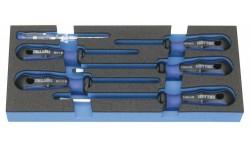 Набор из 6 отвёрток с двухкомпонентной ручкой HEYCO HE-50829000880