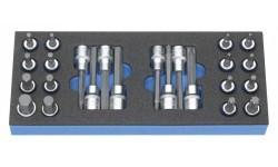 фото Модуль M 50829-17 для тележки-мастерской (24 предмета) HEYCO HE-50829001783 (HE-50829001783])