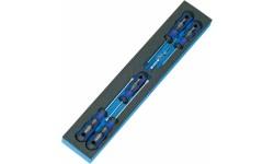 фото Модуль M 50829-33 для инструментального ящика (6 предметов) HEYCO HE-50829003380 (HE-50829003380])