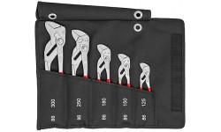 фото Набор из 5-ти клещевых ключей KNIPEX 00 19 55 S4, в сумке-скрутке KN-001955S4 (KN-001955S4])