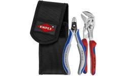 фото Набор инструментов KNIPEX 00 19 72 V01 для снятия стяжек: KN-8605150, KN-7902125, поясная сумка KN-001972V01 (KN-001972V01])