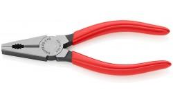 фото Плоскогубцы KNIPEX 03 01 140, комбинированные, однокомпонентные ручки, 140 мм KN-0301140 (KN-0301140])