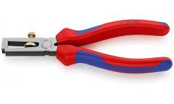 Инструмент для зачистки изоляции KNIPEX 11 02 160, двухкомпонентные чехлы, до 10 мм? KN-1102160