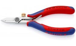 Ножницы-щипцы для удаления изоляции KNIPEX 11 82 130, полированные, 0,03-1,0 10 мм? KN-1182130
