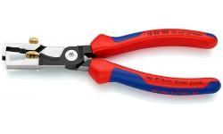 Стриппер KNIPEX 13 62 180, рез кабеля до ? 15 мм, зачистка до 10 мм? KN-1362180