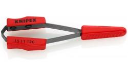 Пинцет для удаления изолирующего лака KNIPEX 15 11 120, кабель ? 0.6 мм KN-1511120