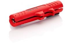 Стриппер KNIPEX 16 80 125 SB, для кабелей передачи данных NYM ? 8.0 - 13.0 мм KN-1680125SB