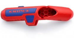 KNIPEX ErgoStrip® стриппер универсальный для кругл., водостойк. кабеля, зачистка: 0.2/0.3/0.8/1.5/2.5/4 мм?, ?8-13 мм, L-135 мм