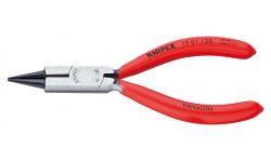 Круглогубцы ювелира KNIPEX 19 01 130, однокомпонентные ручки, 130 мм KN-1901130