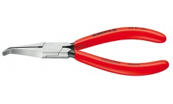 Плоскогубцы KNIPEX 32 31 135, однокомпонентные чехлы, полированные, угол ?40°, 135 мм KN-3231135