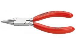 Круглогубцы KNIPEX 37 43 125, для точных работ, хромированные, 125 мм  KN-3743125