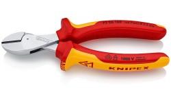 Бокорезы KNIPEX X-Cut 73 06 160, диэлектрические VDE 1000V, хромированные, 160 мм KN-7306160