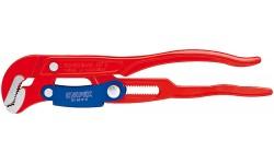 Клещи трубные с S-образным смыканием губок с красным порошковым покрытием 330 mm KNIPEX 83 60 010