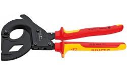 фото Резак для кабеля со стальным армированием электроизолированный KNIPEX 95 36 315 A KN-9536315A (KN-9536315A])