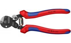 фото Ножницы для резки проволочных тросов, 160 mm KNIPEX 95 62 160 (KN-9562160])