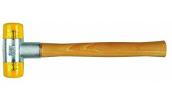 WE-000030 — Молоток с мягким бойком WERA Cellidor 100, # 6 x 50 mm