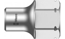 WE-003667 — Торцевая головка для WERA Zyklop 8790 FA с приводом 1/4