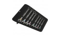 фото WE-020012 — Набор гаечных ключей WERA Joker с кольцевой трещоткой Imperial , 8 предметов (WE-020012])