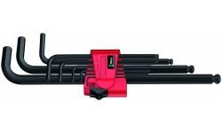 WE-022086 — Набор шестигранных ключей WERA 950 PKL/9 BM N, метрических, BlackLaser, 9 предметов