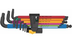 950/9 Hex-Plus Multicolour Imperial 2 Набор Г-образных ключей, дюймовых, BlackLaser, 9 предметов, 5/64