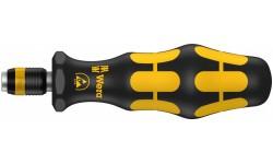 WE-051464 — Ручка-битодержатель Kraftform антистатическая с быстрозажимным патроном Rapidaptor WERA 816 R ESD, 1/4 дюйм x 119 mm