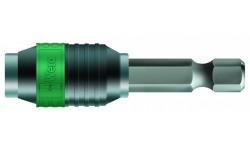 WE-052502 — Битодержатель универсальный Rapidaptor с функцией быстрой установки и постоянным магнитом WERA 889/4/1 K, 1/4 дюйм x 50 mm x 1/4 дюйм