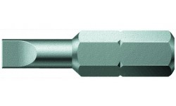 WE-056010 — Бита шлицевая с закалкой до вязкой твёрдости WERA 800/1 Z, 0.6 x 3.5 x 39 mm