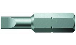 WE-056020 — Бита шлицевая с закалкой до вязкой твёрдости WERA 800/1 Z, 0.8 x 4.0 x 39 mm