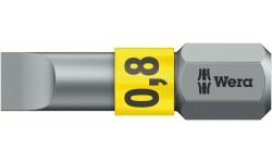WE-056064 — Бита шлицевая WERA 800/1 BTZ BiTorsion, 0.8 x 5.5 x 25 mm