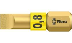 WE-056172 — Бита шлицевая с алмазным покрытием WERA 800/1 BDC, BiTorsion, 0.8 x 5.5 x 25 mm