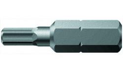 WE-056330 — Бита с шестигранным профилем WERA 840/1 Z Hex-Plus, 6.0 mm x 25 mm