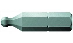 WE-056356 — Бита шестигранная со сферической головкой WERA 842/1 Z, 5.0 mm x 25 mm