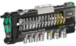 фото WE-056490 — Универсальный набор бит WERA Tool-Check PLUS, 39 деталь (WE-056490])