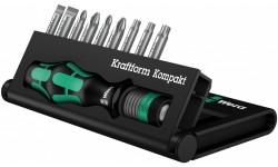 фото WE-056653 — Универсальный набор бит с держателем WERA Kraftform Kompakt 10, 10 педметов (WE-056653])