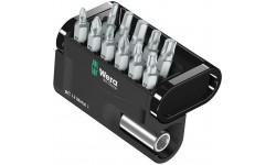 WE-057424 — Набор бит универсальный WERA Bit-Check 12 Metal 1, 12 предметов