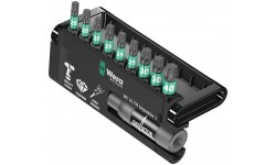 фото WE-057688 — Набор ударных бит TORX WERA Bit-Check 10 TX Impaktor 1, 10 предметов (WE-057688])