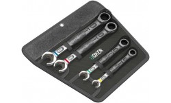 фото WE-073290 — Набор ключей WERA Joker с кольцевой трещоткой, 4 предмета (WE-073290])