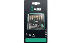 WE-073534 — Набор бит в блистерной упаковке WERA Bit-Check 7 PZ Diamond 1 SB, 7 предметов