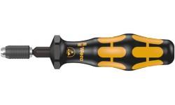 WE-074826 — Динамометрическая отвёртка WERA 7455 ESD антистатическая с предустановленным моментом затяжки, 1/4 дюйм , 0,1 - 0,34 Nm
